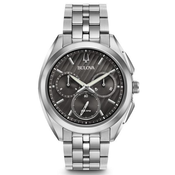 96A186 BULOVA CURV ブローバ  カーブ クロノグラフ メンズ腕時計 正規品 送料無料  |quelleheure-1