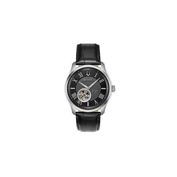 BULOVA ブローバ クラシックモデル ウィルトン 自動巻き メンズ腕時計 96A217   quelleheure-1