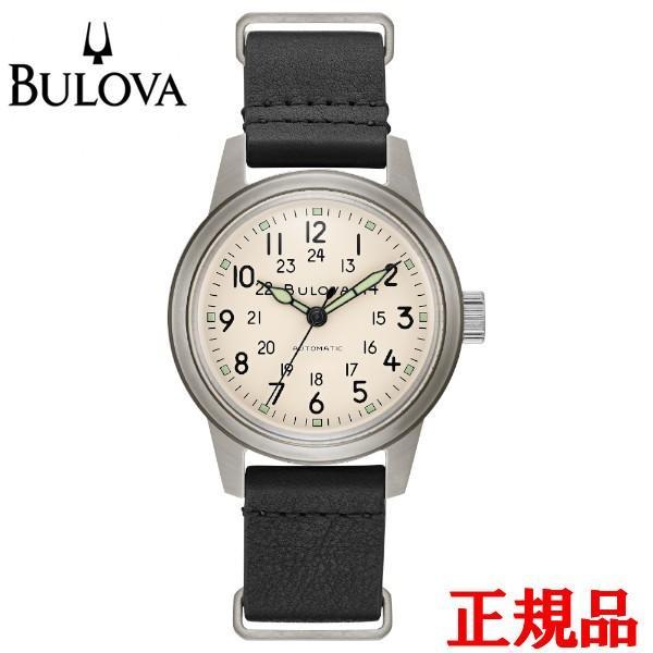 正規品 BULOVA ブローバ Military 自動巻き メンズ腕時計 送料無料 96A246|quelleheure-1