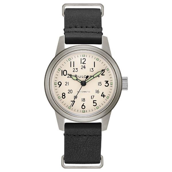 正規品 BULOVA ブローバ Military 自動巻き メンズ腕時計 送料無料 96A246|quelleheure-1|02