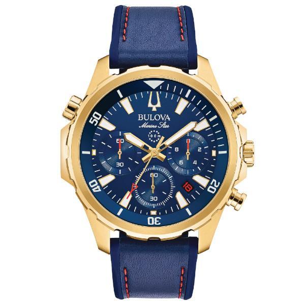 正規品 BULOVA ブローバ Marine Star クオーツ メンズ腕時計 送料無料 97B168|quelleheure-1|02