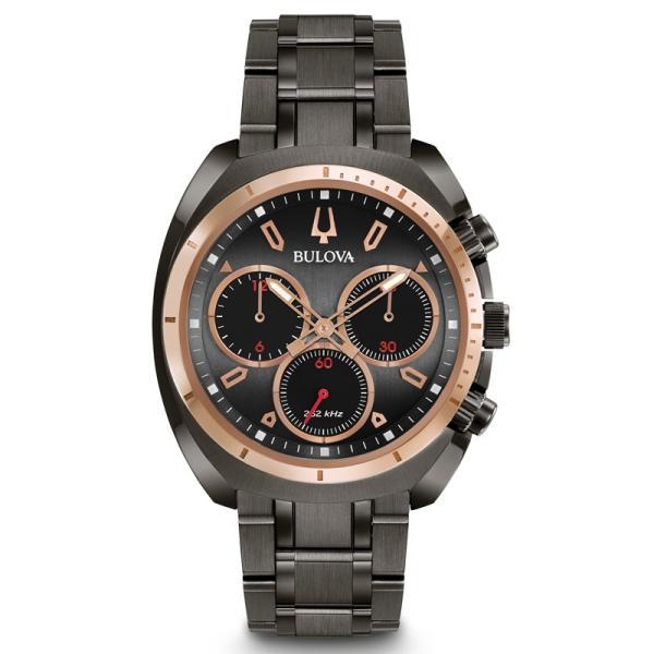 98A158 BULOVA CURV ブローバ  カーブ クロノグラフ メンズ腕時計 正規品 送料無料   quelleheure-1