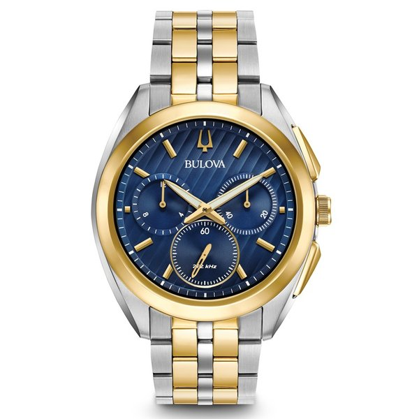 98A159 BULOVA CURV ブローバ  カーブ クロノグラフ メンズ腕時計 正規品 送料無料   quelleheure-1