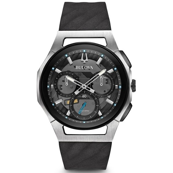 98A161 BULOVA CURV ブローバ  カーブ クロノグラフ メンズ腕時計 正規品 送料無料  |quelleheure-1