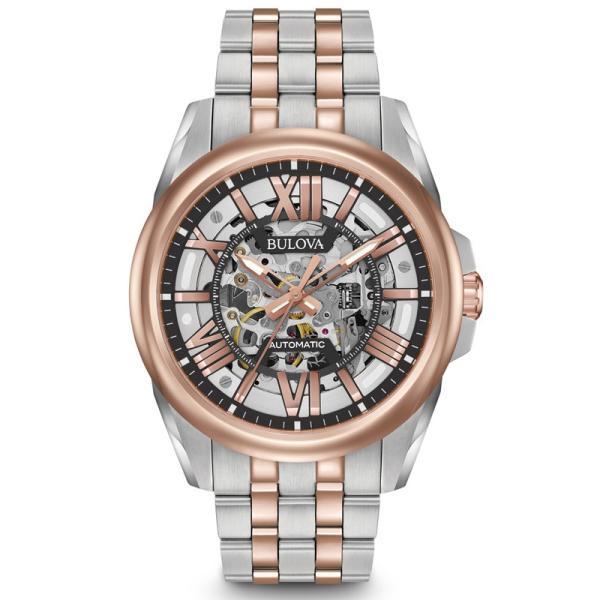98A166  BULOVA[ブローバ] Automatic   メンズ腕時計 国内正規品  送料無料  |quelleheure-1