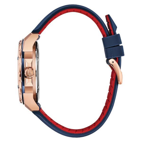 正規品 BULOVA ブローバ Marine Star 自動巻き メンズ腕時計 送料無料 98A227|quelleheure-1|03