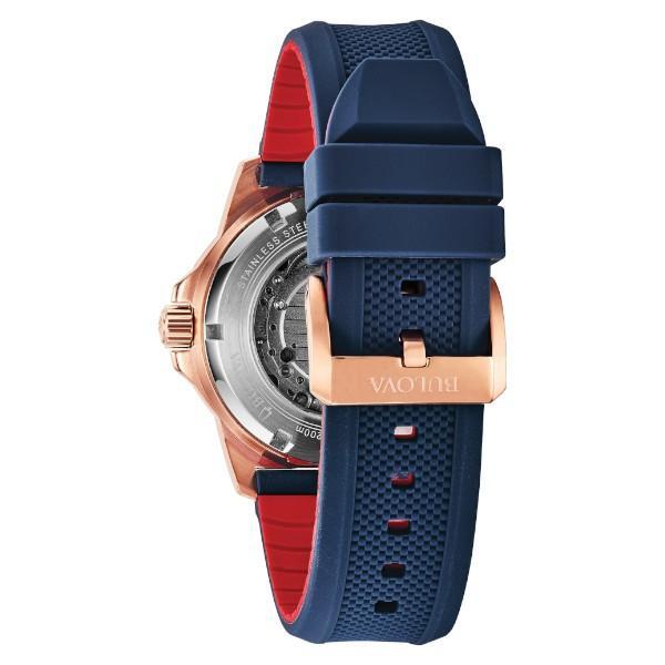 正規品 BULOVA ブローバ Marine Star 自動巻き メンズ腕時計 送料無料 98A227|quelleheure-1|04