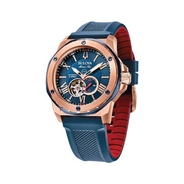 正規品 BULOVA ブローバ Marine Star 自動巻き メンズ腕時計 送料無料 98A227|quelleheure-1|05