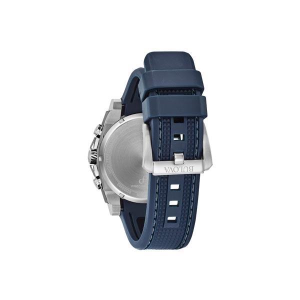 BULOVA ブローバ プレシジョニスト クロノグラフ クォーツ メンズ腕時計 98B315  |quelleheure-1|03