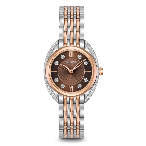 98R230 BULOVA[ブローバ]DIAMONDS [ダイヤモンド] レディース腕時計 国内正規品  送料無料   quelleheure-1