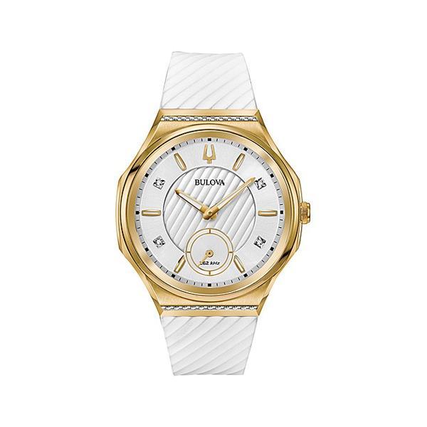 国内正規品 BULOVA ブローバ カーブ レディース腕時計 送料無料 98R237   quelleheure-1
