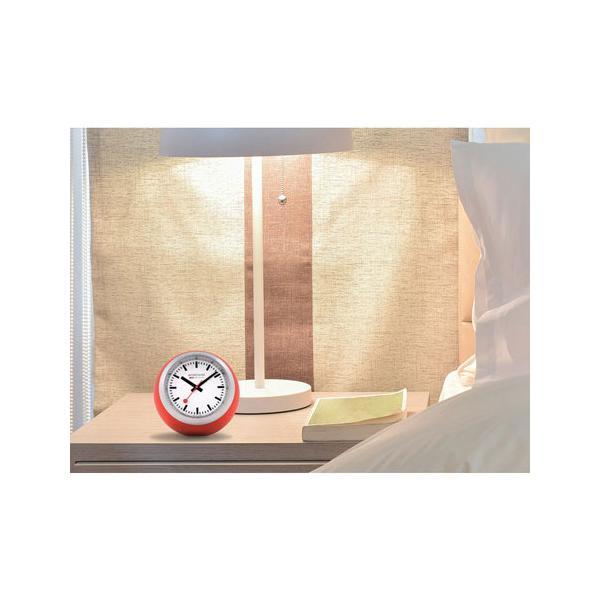 正規品 MONDAINE モンディーン クォーツ デスククロック グローブ レッド 送料無料 A6603033516SBC quelleheure-1 05