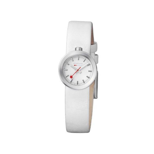 正規品 MONDAINE モンディーン クォーツ アウラ ホワイト ユニセックス腕時計 送料無料 A6663032416SBAA|quelleheure-1|02