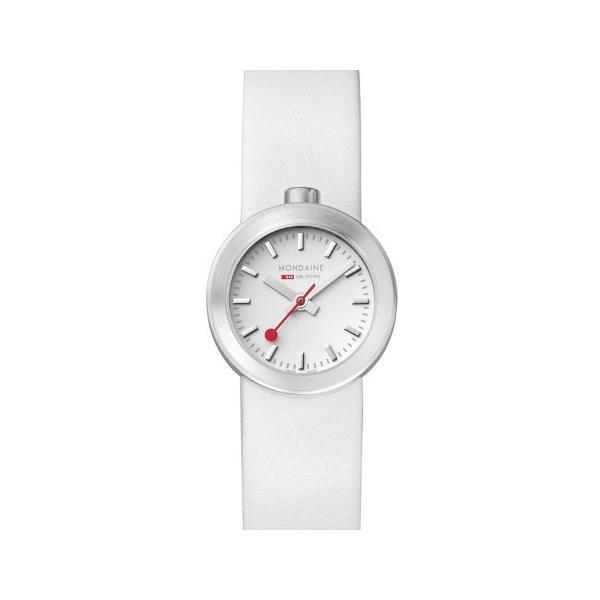 正規品 MONDAINE モンディーン クォーツ アウラ ホワイト ユニセックス腕時計 送料無料 A6663032416SBAA|quelleheure-1|03