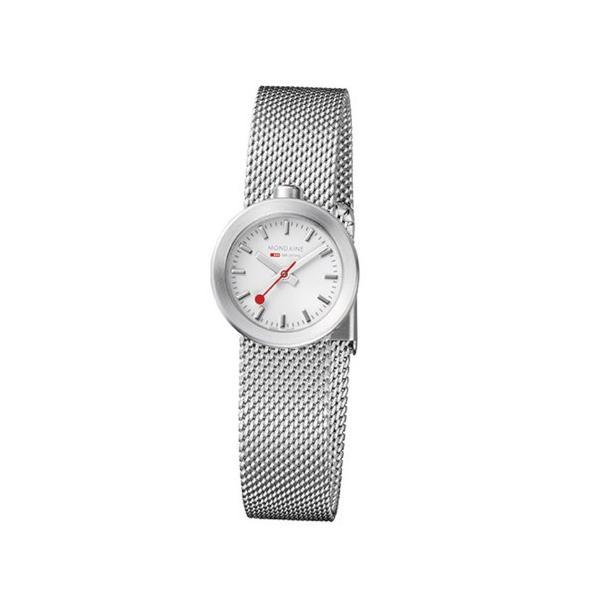 正規品 MONDAINE モンディーン クォーツ アウラ ホワイト ユニセックス腕時計 送料無料 A6663032416SBAA|quelleheure-1|05