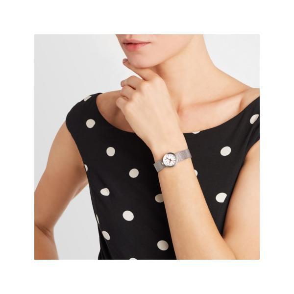 正規品 MONDAINE モンディーン クォーツ アウラ ホワイト ユニセックス腕時計 送料無料 A6663032416SBAA|quelleheure-1|08