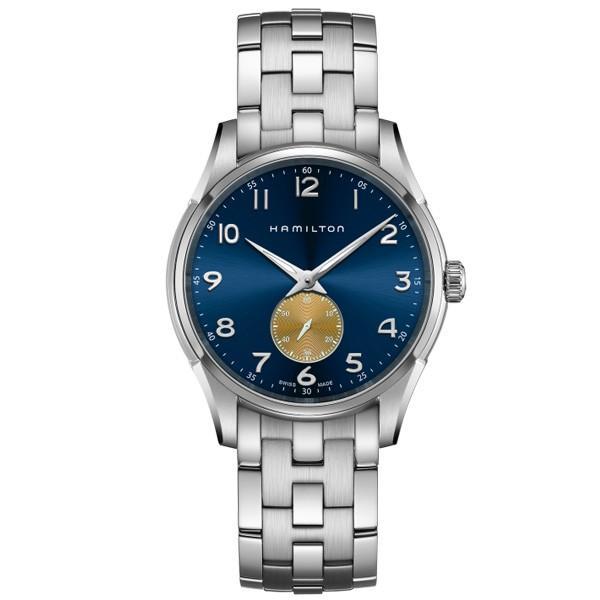 Hamilton ハミルトン ジャズマスター シンライン スモールセコンド クォーツ メンズ腕時計 H38411140|quelleheure-1|02
