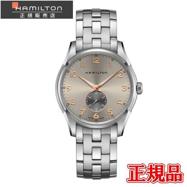 Hamilton ハミルトン ジャズマスター シンライン スモールセコンド クォーツ メンズ腕時計 H38411180|quelleheure-1