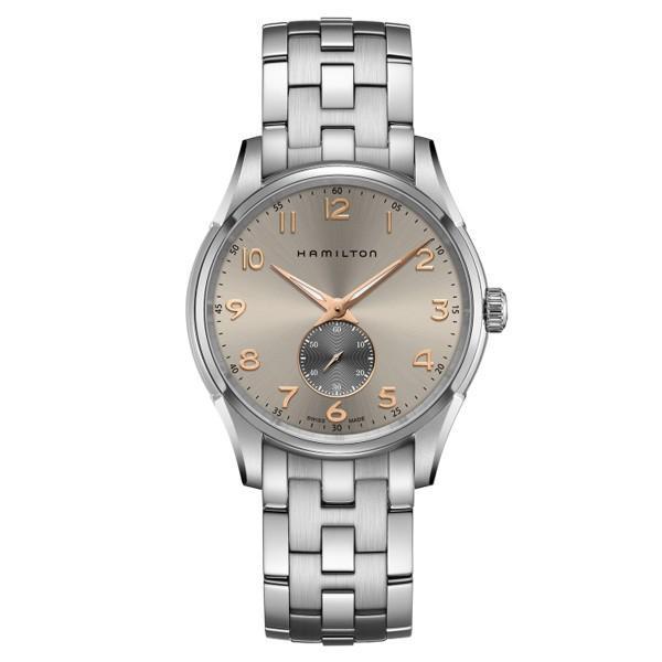 Hamilton ハミルトン ジャズマスター シンライン スモールセコンド クォーツ メンズ腕時計 H38411180|quelleheure-1|02
