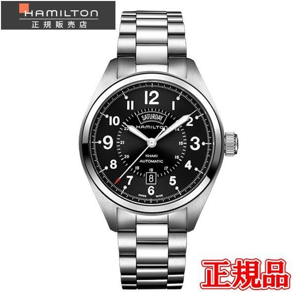 24回払いまで無金利 H70505133 HAMILTON ハミルトン カーキ フィールド デイデイト オート メンズ腕時計 国内正規品  送料無料  |quelleheure-1
