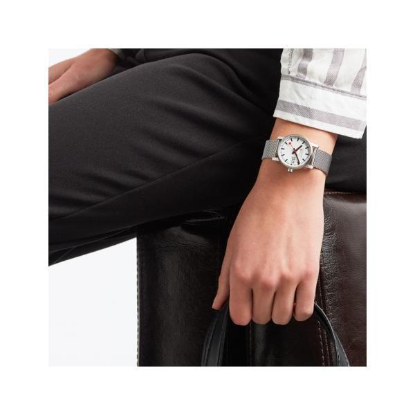 正規品 MONDAINE モンディーン クォーツ エヴォ2 ビッグデイト 30mm メッシュ レディース腕時計 送料無料 MSE30210SM quelleheure-1 03