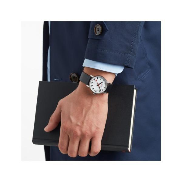 正規品 MONDAINE モンディーン クォーツ エヴォ2 35mm ブラック メンズ腕時計 送料無料 MSE35110LB|quelleheure-1|03