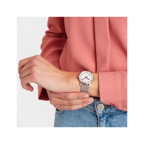 正規品 MONDAINE モンディーン クォーツ エヴォ2 35mm メッシュ メンズ腕時計 送料無料 MSE35110SM|quelleheure-1|03