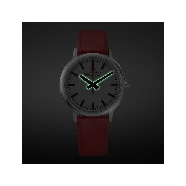正規品 MONDAINE モンディーン クォーツ stop2go 2017 レッド メンズ腕時計 送料無料 MST4101BLC quelleheure-1 04