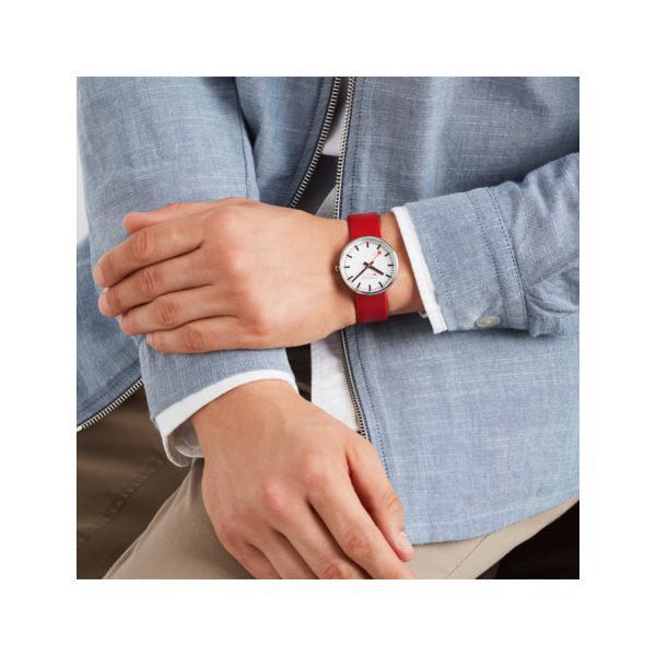 正規品 MONDAINE モンディーン クォーツ ミニジャイアント バックライト 35mm レッド ユニセックス腕時計 送料無料 MSX3511BLC|quelleheure-1|04