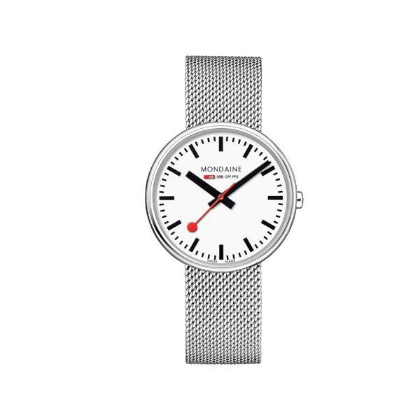 正規品 MONDAINE モンディーン クォーツ ミニジャイアント バックライト 35mm メッシュ ユニセックス腕時計 送料無料 MSX3511BSM|quelleheure-1|02
