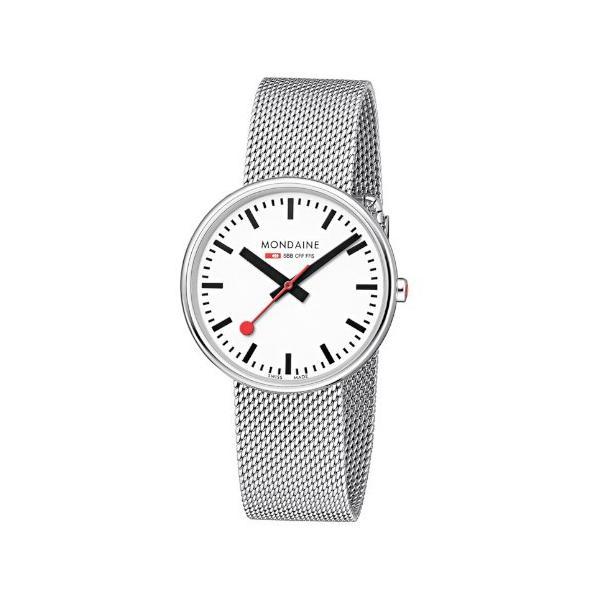 正規品 MONDAINE モンディーン クォーツ ミニジャイアント バックライト 35mm メッシュ ユニセックス腕時計 送料無料 MSX3511BSM|quelleheure-1|03