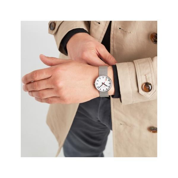 正規品 MONDAINE モンディーン クォーツ ミニジャイアント バックライト 35mm メッシュ ユニセックス腕時計 送料無料 MSX3511BSM|quelleheure-1|04