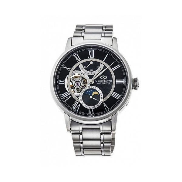 ORIENT STAR オリエントスター MECHANICAL MOON PHASE 自動巻き 手巻き付 メンズ腕時計 RK-AM0004B  |quelleheure-1