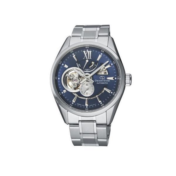 ORIENT STAR オリエントスター MODERN SKELETON 自動巻き 手巻き付 メンズ腕時計 RK-AV0004L  |quelleheure-1