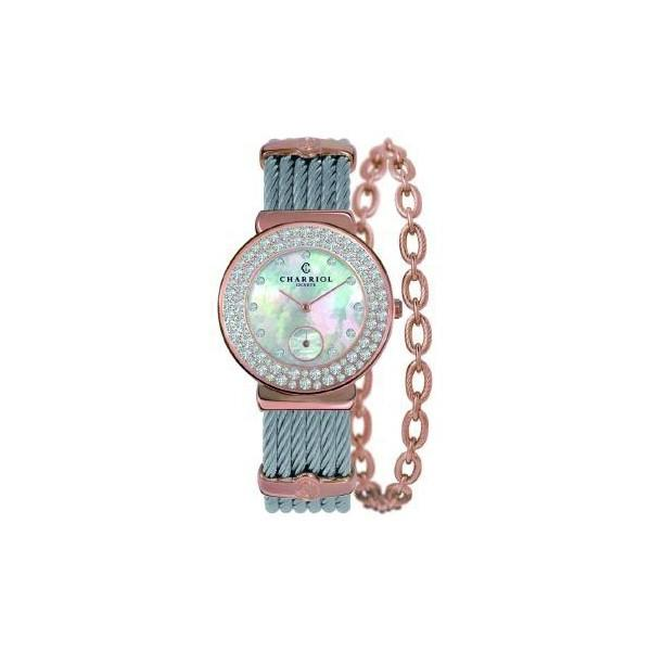 ST30PBD.560.023 CHARRIOL シャリオール ST-TROPEZ 30 レディース腕時計 国内正規品 送料無料