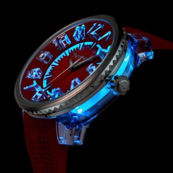 TENDENCE テンデンス FLASH フラッシュ クォーツ 腕時計 LEDライト マルチファンクション TY532005   quelleheure-1 05