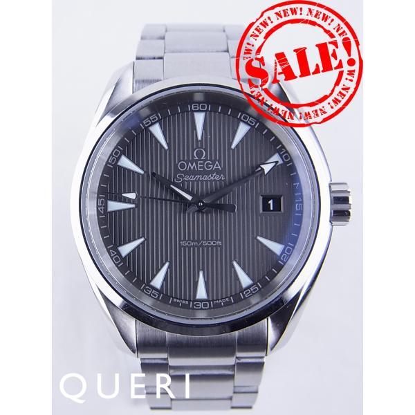 big sale d69dd 3f6dd オメガシーマスターアクアテラ231.10.39.60.06.001を最安値販売価格に挑戦中 中古
