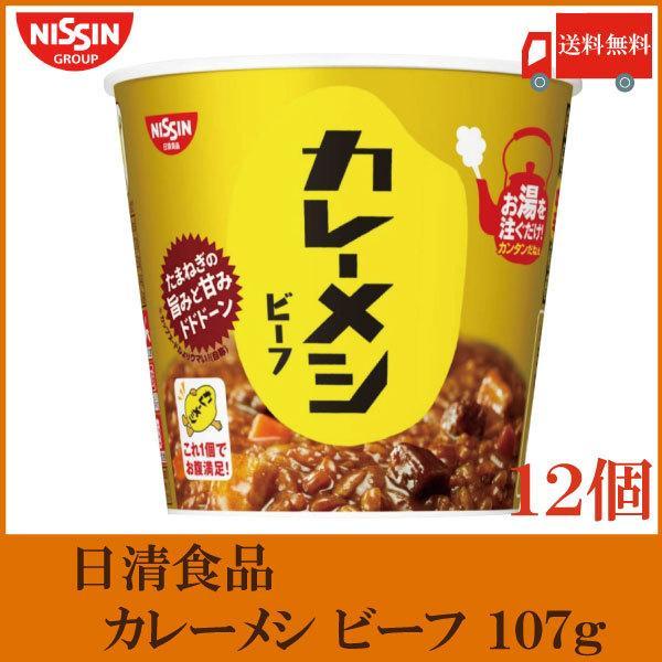 日清食品日清カレーメシビーフ107g×12個(6個入×2ケース)
