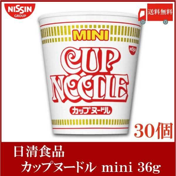 日清食品 カップヌードル ミニ 36g×30個 (15個入×2ケース) 送料無料