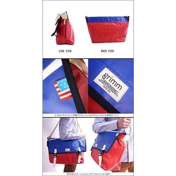 BIG SIZE カラー メッセンジャーバッグ ショルダーバッグ ビッグサイズ 大きい BAG バッグ ビジネスバッグ 通勤 通学 ターポリン
