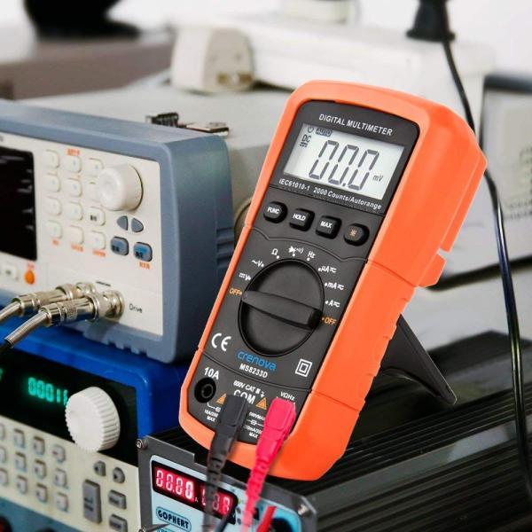 Crenova デジタルマルチメーター 電圧・電流・周波数・抵抗・導通測定テスター|quo-shop|09