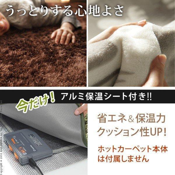 ラグ カーペット 3畳 240x200 北欧 ホットカーペット対応 マット 洗える 床暖房対応 7柄 モリス