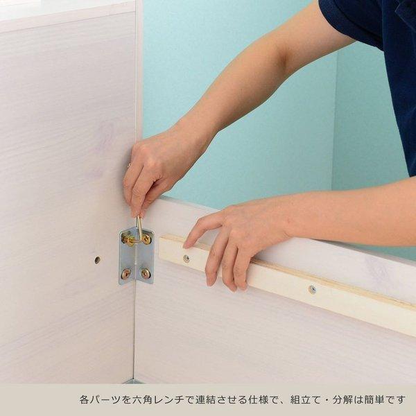 ベッド 収納付き  シングル 大容量 安い フレーム 格安 収納 サイズ 収納付きベッド シングルベッド フレームのみ 木製 おしゃれ 子供部屋 子供 通気|quoli|08