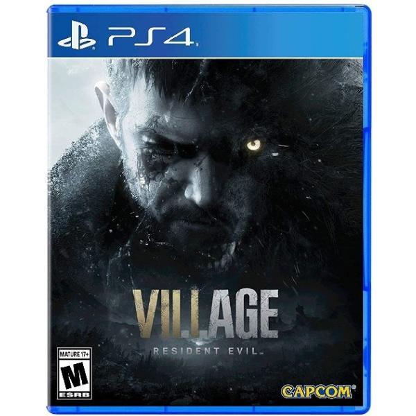 PS4ResidentEvilVillage北米版 新品