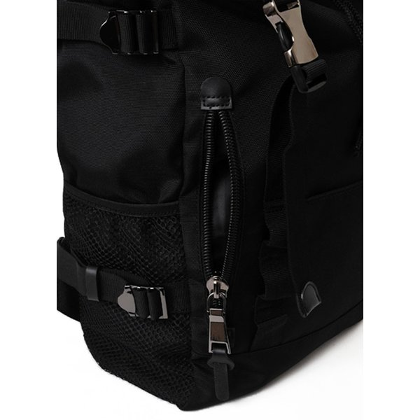79e2bddf7703 ... リュックサック デイパック バックパック 鞄 カバン 合皮ベルト フラップ付き カジュアル アウトドア 旅行 レジャー