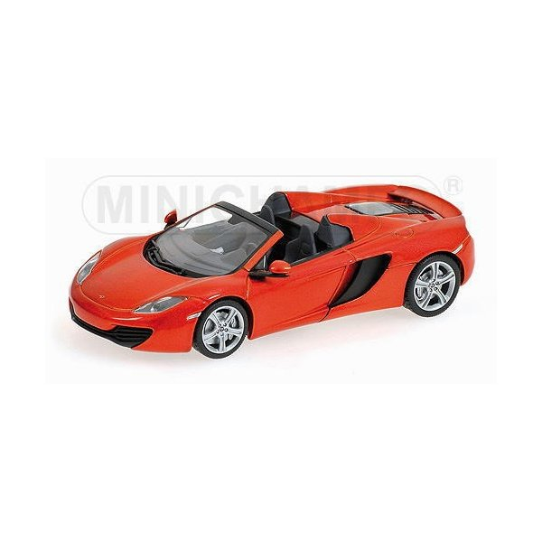 1/43 マクラーレン スパイダー オレンジメタリック McLaren MP4-12C Spider 2012 Orange Metallic ミニチャンプス MINICHAMPS