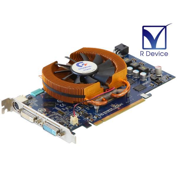 GIGA-BYTE Technology GeForce 8800 GT 512MB TV-out/DVI-I *2 PCI Express 2.0 x16 GV-NX88T512HP【中古ビデオカード】