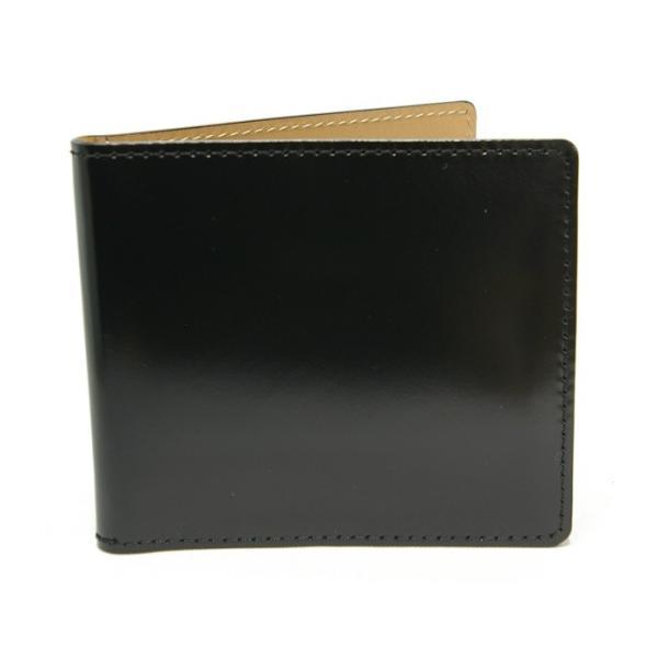(日本製) 馬革 コードバン マネークリップ (カードポケット有) 純日本製 高品質 Cordovan Money clip 馬革 馬 札挟み 札バサミ|r-style|04