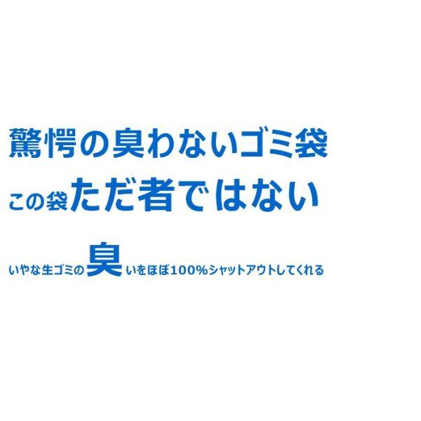防臭袋 30L 臭わない ゴミ袋 防臭丸 BOSHUMARU (20枚入) 安心の厚み0.03mm 半透明 50cm×70cm 生ゴミ うんち おむつ 防臭 (配送:ゆうパケット1)|r-style|02