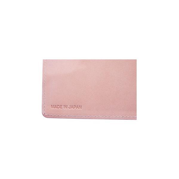 日本製 馬革 コードバン 二つ折り財布 (メンズ コードバン二つ折り財布 小銭入れ有り)Cordovan|r-style|04